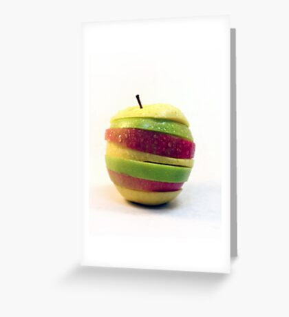 Slices Greeting Card
