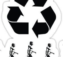 evolution revolution Sticker