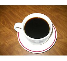 A Cup Of Coffee Photographic Print
