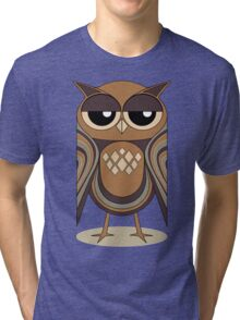 THE UNDERSTANDING OWL Tri-blend T-Shirt