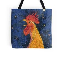 THE ROOSTER THAT CROWED IN THE MORN Tote Bag