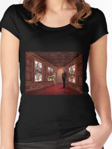 The Gallery Women's Fitted Scoop T-Shirt