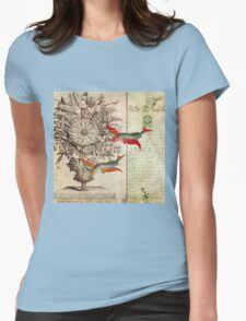 Fish of a Feather Womens Fitted T-Shirt