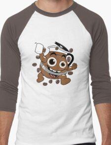 Coffee ! Men's Baseball ¾ T-Shirt