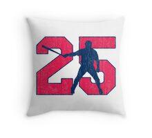 No. 25 Throw Pillow