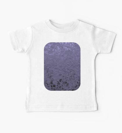 Grunge Relief Floral Abstract Baby Tee