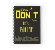 Linux Spiral Notebook