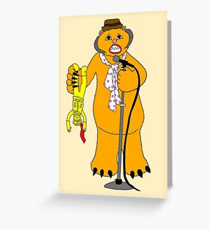 Wampa! Wampa! Wampa! Greeting Card