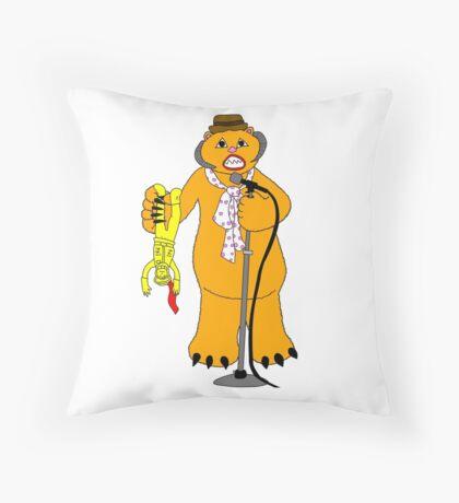 Wampa! Wampa! Wampa! Throw Pillow