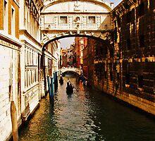 Under the Bridge of Sighs - Venice, Italy by tarenjane