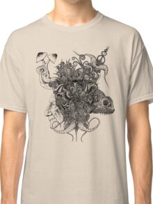 Psilocybinaturearthell Psychedelic Ink Illustration Classic T-Shirt