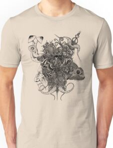 Psilocybinaturearthell Psychedelic Ink Illustration Unisex T-Shirt