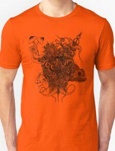 Psilocybinaturearthell Psychedelic Ink Illustration Unisex T-Shirt