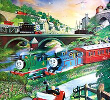 THOMAS THE TANK ENGINE POSTER ( PLEASE READ BLURB) by DilettantO