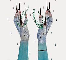 Live and Let Grow by Klee Art