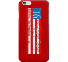 Andy Shay Presidential Campaign iPhone Case/Skin