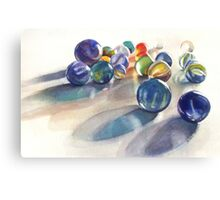 More marbles Canvas Print