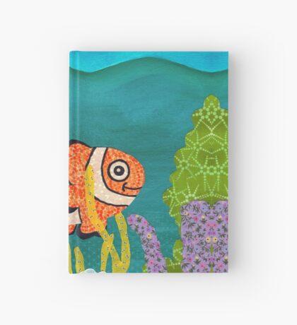 Clownfish Duvet  Hardcover Journal