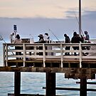 Fishin' On The Wharf by Bob Wall