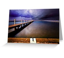 Narrabeen Pool Greeting Card