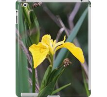 Yellow water Iris iPad Case/Skin