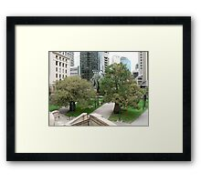 """Brisbane"" Framed Print"