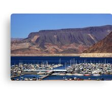 Lake Mead Marina Canvas Print