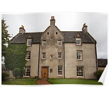 MacAllan Distillery - Easter Elchies House Poster