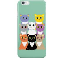 Only Eight Cats iPhone Case/Skin