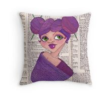 Knit-head Throw Pillow