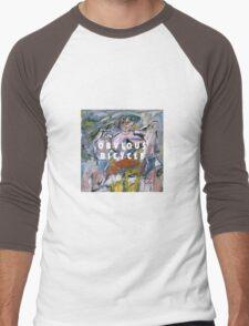 Obvious Woman Men's Baseball ¾ T-Shirt