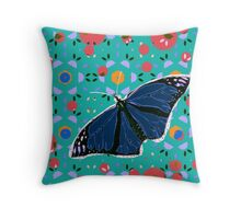 I Can't Believe It's Not Butter(fly) Throw Pillow