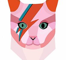 Bowie Cat by femmedoe