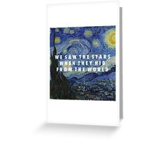 Starry Step Greeting Card