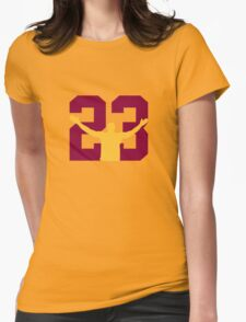 No. 23 (alternate colors) Womens Fitted T-Shirt