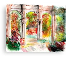 Evening's crescendo Canvas Print