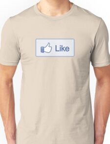 Like Button T-Shirt Unisex T-Shirt