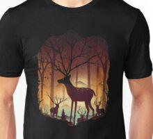 Into the Deer Woods Unisex T-Shirt
