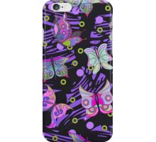 Abstract Butterflies iPhone Case/Skin