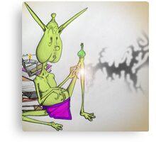 Book Goblin Canvas Print