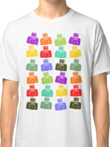 Colorful Cameras Classic T-Shirt