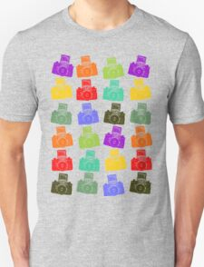 Colorful Cameras Unisex T-Shirt