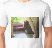 Curious Kitten Dreamily Checking Out The Summer Scene Unisex T-Shirt