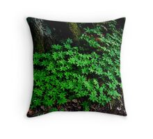 Lush and Green Throw Pillow