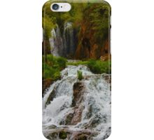Spearfish Canyon Waterfalls iPhone Case/Skin