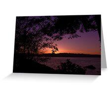 Tonight's Sunset (05/10/10) Greeting Card