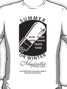 vintage radio tubes ad T-Shirt