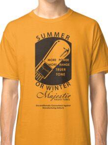 vintage radio tubes ad Classic T-Shirt