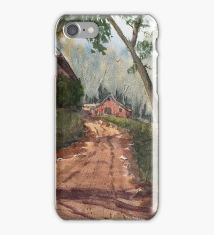 Mist In The Hollow iPhone Case/Skin