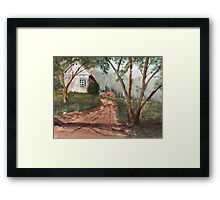 Mist In The Hollow Framed Print